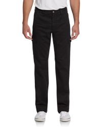 7 For All Mankind Carsen Straight-Leg Cargo Pants - Lyst