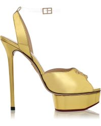 Charlotte Olympia Head To Toe - Lyst