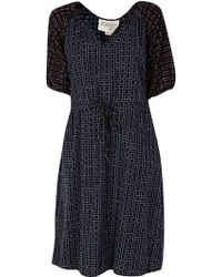 Ace & Jig Meadow Dress In Lattice black - Lyst