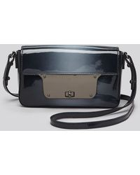 Milly Crossbody Piper Patent Ombre Mini - Lyst