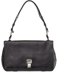 Proenza Schouler Ps Courier Leather Satchel Bag - Lyst