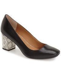 Calvin Klein - 'cirilla' Block Heel Pump - Lyst