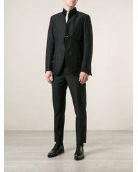 Saint Laurent Black Stylised Suit - Lyst