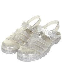 Topshop Huey2 Maxi Jelly Sandals - Lyst