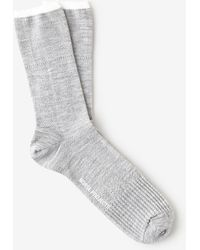 Norse Projects Bjarki Mixed Stitch Socks - Lyst