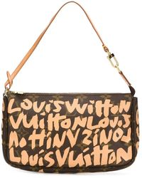 Louis Vuitton | Graffiti Ponchette Leather Shoulder Bag  | Lyst