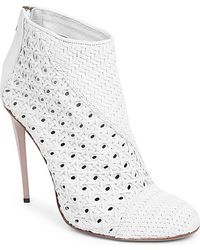 Haider Ackermann Salou Woven Ankle Boots - For Women - Lyst