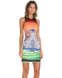 Clover Canyon Newgrange Clover Pastures Neoprene Dress - Lyst