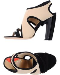 Stephen Venezia High-Heeled Sandals - Lyst