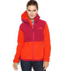 The North Face Hooded Denali Fleece Jacket - Lyst