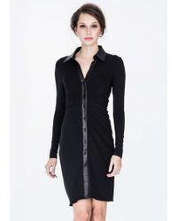 Chris Gramer - Betty Dress In Black - Lyst