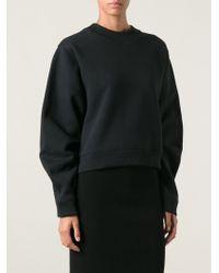 Acne Studios Black Bird Sweatshirt - Lyst