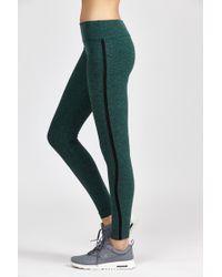 Beyond Yoga | Spacedye Lattice Side Long Legging | Lyst