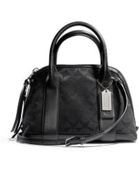 Coach Bleecker Mini Preston Satchel in Signature Fabric - Lyst