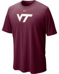 Nike Virginia Tech Hokies Drifit Legend Tee - Lyst