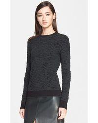 Jason Wu Jacquard Knit Sweater - Lyst