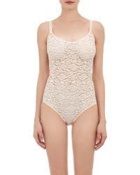 Hanro - Lace Messina Bodysuit - Lyst