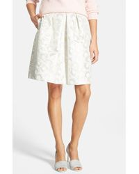 Weekend by Maxmara Orche Jacquard Skirt - Lyst