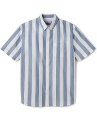 Hentsch Man Blue Steve Shirt - Lyst