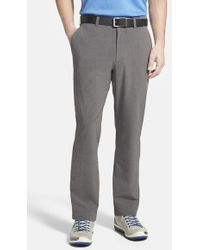 Cutter & Buck 'Bainbridge' Drytec Flat Front Pants - Lyst