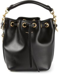 Saint Laurent Small Emmanuelle Bucket Bag - Lyst