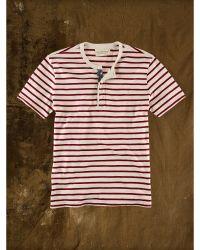 Denim & Supply Ralph Lauren Striped American-Flag Henley - Lyst