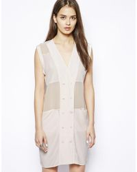 Dress Gallery - Noon Sleeveless Silk Dress - Lyst