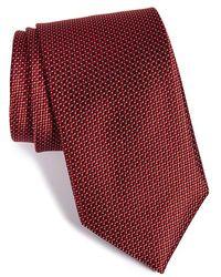 JZ Richards - Geometric Woven Silk Tie - Lyst