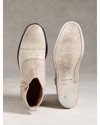 John Varvatos - Fleetwood Short Button Boot - Lyst