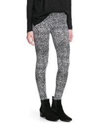 Mango Printed Leggings - Lyst
