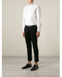 Canali White Classic Shirt - Lyst
