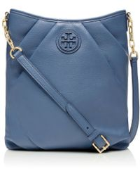 Tory Burch Blue Kolbe Swingpack - Lyst