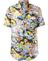 KENZO   Cartoon Print T-shirt   Lyst