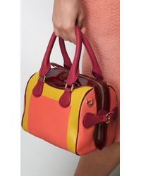 Burberry The Mini Bee in Handpainted Leather with Patent Trim - Lyst