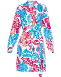 Diane von Furstenberg - Prita Silk Wrap Dress - Lyst
