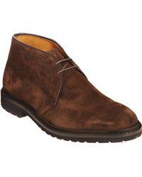 Alden Brown Chukka Boot - Lyst
