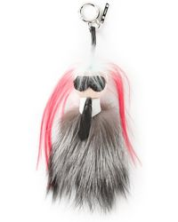 Fendi Karl Largerfeld Bag Charm - Lyst
