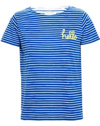 Chinti & Parker Hello T-Shirt blue - Lyst