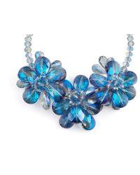 James Lakeland - 3d Glass Floral Necklace - Lyst