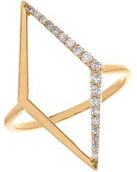Lana Jewelry 14K Mirage Diamond Ring - Lyst