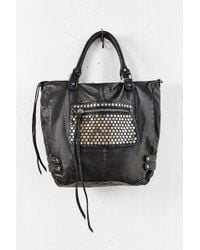 Pins And Needles Hexagon Stud Tote Bag - Lyst