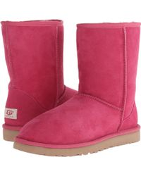 Ugg Pink Classic Short - Lyst