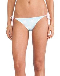 Wildfox Couture Reversible Usa Flag Bikini Bottom - Lyst