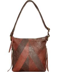 Lucky Brand Piece Train Small Tote - Lyst