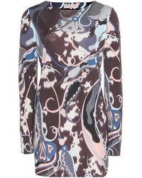 Emilio Pucci Printed Silk Tunic - Lyst
