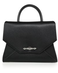 Givenchy Obsedia Small Textured-Leather Satchel - Lyst