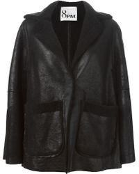 8pm - Shearling Cape - Lyst
