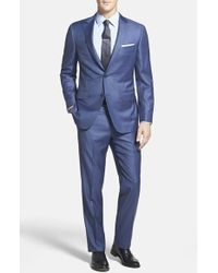 Samuelsohn Classic Fit Wool Suit - Lyst