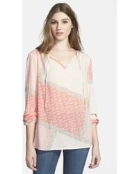 Tommy Bahama 'Flower Fields' Peasant Top - Lyst