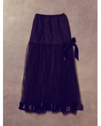 Free People Vintage Crinoline Ballet Skirt - Lyst